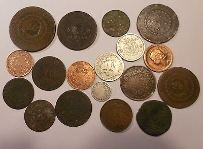 portugal lot of 18 coins - very good lot !!!!!!