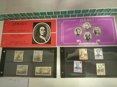 Jersey mint stamps free postage