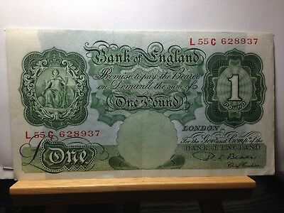 1949 Bank Of England  PS Beale Signature