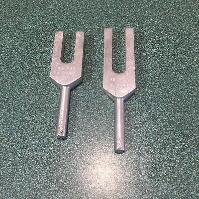 35 And 65 MPH K-Band Tuning Forks