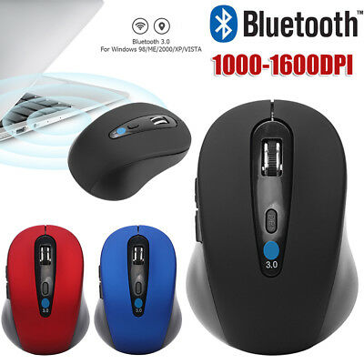 Wireless Bluetooth Mouse 1000DPI-1600DPI Optical Mice for PC Desktop Laptop Lot