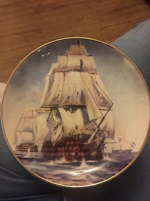 HMS Victory fine bone china collectors plate from the Westminster Collection