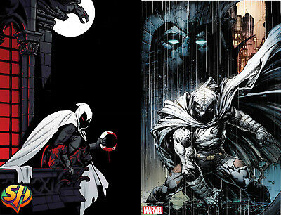 Moon Knight 200 Set Cover A and Finch Variant 10/24