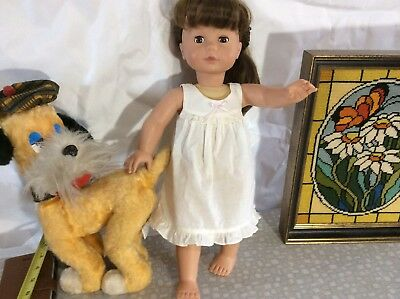 American Doll Pottery Barn Kids By Guts Sleep Eyes Long Hair In Tale In ExcellUC