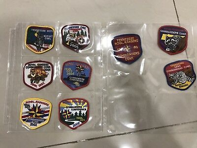 Lot Of Royal Rangers Patches Set Of Tennessee Event Patches