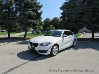 2016 BMW 2 Series 228i xDrive 228i xDrive 2 Series 2 dr Coupe Automatic Gasoline 2.0L 4 Cyl WHITE