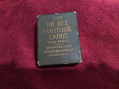 Antique 68X The Nile Fortune Telling Cards c.1897-1904 Oracle / Tarot Cards GUC