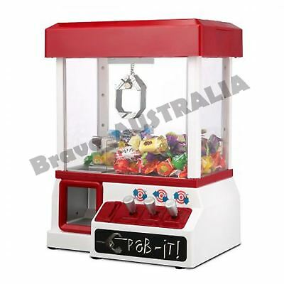 Candy Vending Machine Toy Arcade Gumball Prize Claw Grabber Game Carnival Style
