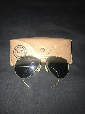 Vinage 90s Bausch And Lomb Ray Ban Aviators Sunglasses