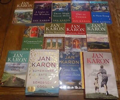 The 1st 13 - Books 1 thru 13 of the Mitford Series by Jan Karon