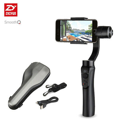 Zhiyun Smooth-Q 3-Axis Handheld Gimbal Stabilizer for Smartphone up to 220g or 6