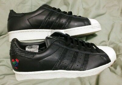 brand new 44302 199c7 New ADIDAS ORIGINALS SUPERSTAR 80S CHINESE NEW YEAR BA7778 Men s US 9 Black