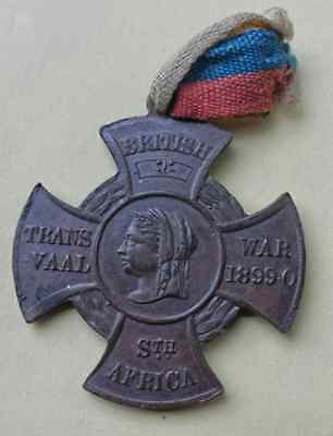 South Africa Peace Medal 1899-0 Boer War, Excellent Condition, Scarcer Variety