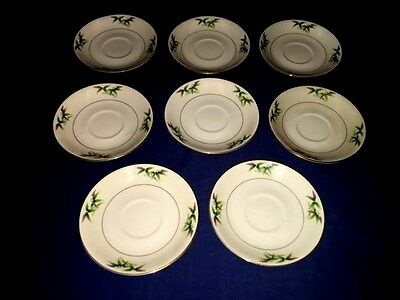 """8 Harmony House MANDARIN 5 3/4"""" Saucers ~ Excellent ~ Discontinued"""