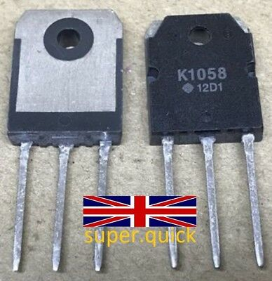 2SK1058 K1058 TO-3P Transistor from Hitachi