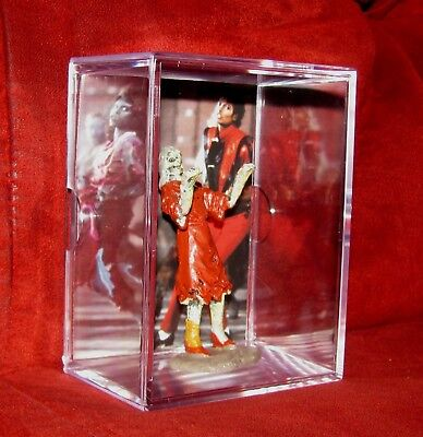 """King of Pop """"MICHAEL JACKSON"""" {inspired by display} Thriller Dancer in a box NEW"""