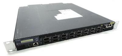 Juniper QFX3600 Fibre Switch qfx3600-16q-afo Layer 2 3 FCoE 16x 40 GbE QSFP+