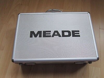 Meade Lenses, Barlow lens and various filters plus hard case