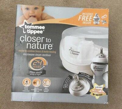 Tommee Tippee - Closer To Nature Microwave Steriliser