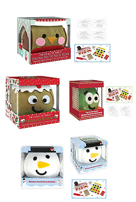 Christmas Pass the Parcel Festive Character Family Party Game