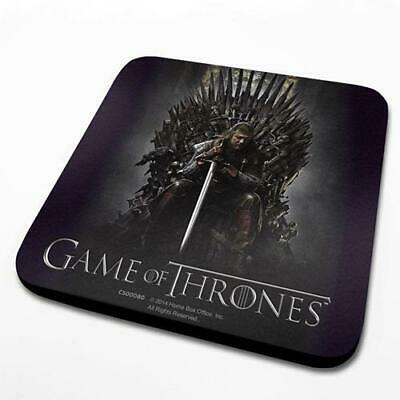 Game Of Thrones - Throne - Single Coasters - Trono Di Spade - Sottobicchiere