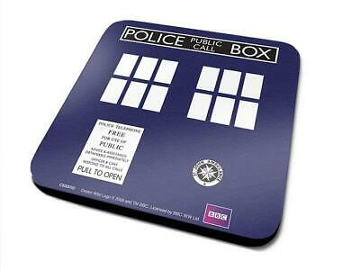 Doctor Who - Tardis - Single Coasters - Sottobicchiere