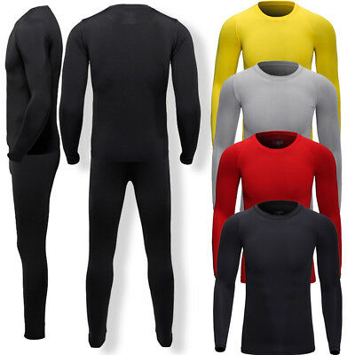 Mens Quick Dry Thermal Ski Underwear Long Johns Long Sleeve Top Bottom US FAST