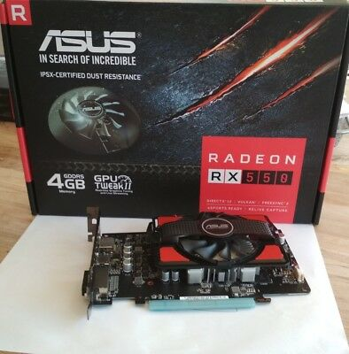Asus RX550 - 4G