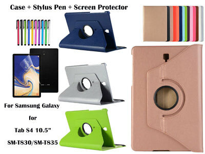 360 Rotate PU Leather Case Cover for Samsung Galaxy Tab S4 10.5 T830 T835
