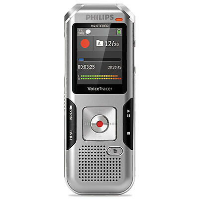 Voice Tracer 4010 Digital Recorder, 8 GB, Silver DVT4010