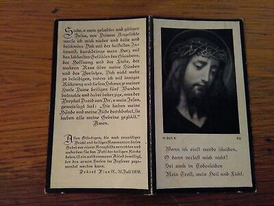 145210 Santino Holy Card LUTTINO ZUM FROMMEN