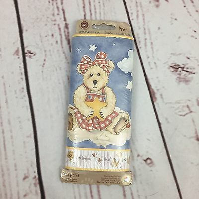 Boyd's Bears Pre Pasted Wallpaper Border Six Friends 5 Yards New in Package