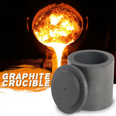 Graphite Furnace Casting Foundry Crucible Melting Tool For Brass Silver Copper