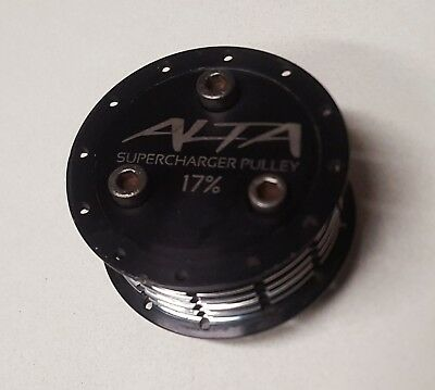 2002-2006 MINI Cooper 17% SUPERCHARGER PULLY by ALTA