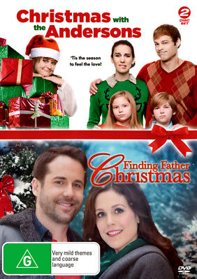 Christmas with the Andersons / Finding Father Christmas  - DVD - NEW Region 4