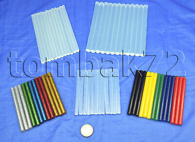 Hot Melt GLUE Gun STICKS Selection of Colours, Sizes & Pack Sizes