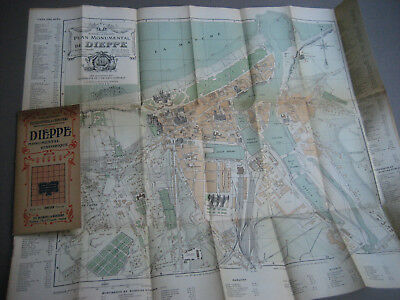 Plan de ville - DIEPPE - Ed Blondel la Rougery - 1910 - 1920.