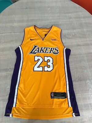 Maillot NBA Nike Swingman Association Los Angeles Lakers James 23 Taille S