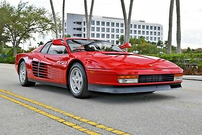1986 Ferrari Testarossa  Rare Double Flying Mirror, original paint, one of just 300 US cars, 20k miles