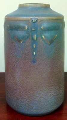 Arts & Crafts Rookwood Dragonfly Todd Vase