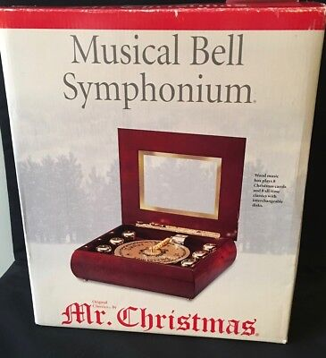 Mr. Christmas Musical Bell Symphonium (Never Played)