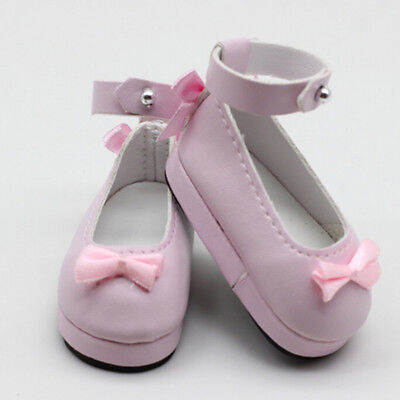 1 Pair 6cm pink doll princess shoes for BJD dolls 1/6 dolls Accessories LC