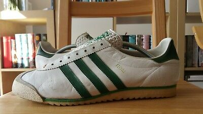 Adidas Rom Made in West Germany 70s UK 10 Schuhe Trainers Shoes Bern Vienna Köln