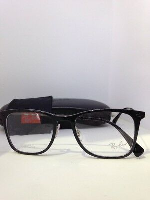 27496ef1d1 NEW AUTHENTIC RAY BAN RB 7086 2000 BLACK FRAMES RX EYEGLASSES RB7086 51mm