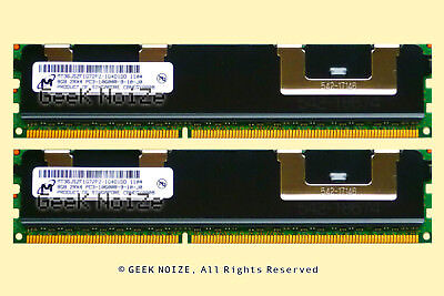 Server RAM 16GB 2x 8GB PC3-10600R ECC REG DDR3 1333 2Rx4 Memory FIT Dell HP IBM