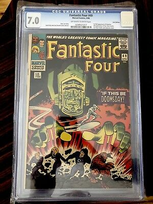 Fantastic Four   #49   CGC 7.0   2nd Silver Surfer