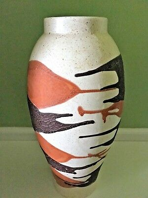VINTAGE MID CENTURY Royal Haeger Earth Wrap Lava Glaze Pottery
