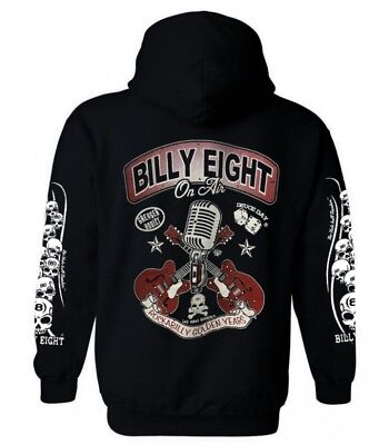 Sweat capuche Billy Eight fermeture zip  -*- On air  -*-