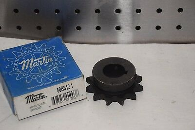 "Martin 50Bs12 1 1"" Bore 12 Teeth Sprocket New"