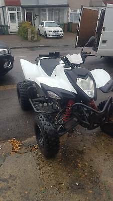 2015 aldy 400cc road legal quad bike moted starts runs and drives great
